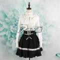 主宰者 LOLITA洋装 高领长袖衬衣 高端复古雪纺衬衫LL-003A