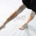 主宰者 女孩兔子 天鹅绒80D平板连裤袜 肤色印花 COSWZ-001D