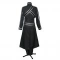 主宰者 刀剑神域 桐谷和人 黑色全套cosplay服装套装