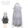 主宰者 如果有妹妹就好了 可儿那由多 灰蓝色长发 cosplay动漫假发 448A
