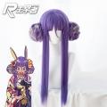 主宰者 Fate/Grand Order 尼托克丽丝 和服版 紫色大发包 cos动漫假发 235W