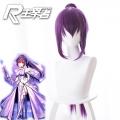 主宰者 Fate/Grand Order FGO 术阶 斯卡哈 师匠 Caster 紫色马尾版 cos动漫假发 235EB